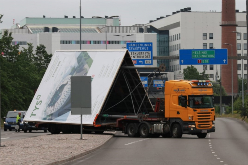 Erikoiskuljetukset, leveätkuljetukset, korkeatkuljetukset Turku ja Varsinais-Suomi